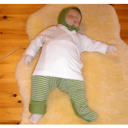 Babybroekje groen