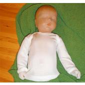 Babyhemdje zijde