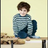 Kinderpyjama bio-katoen velours