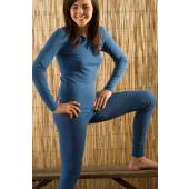 Legging bio-wol kleur