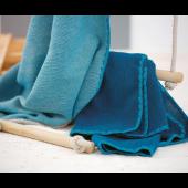 Baby-omslagdoek bio-wol melangekleuren