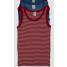 hemdje bio-wol rood of blauw streepje
