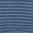blauw gestreept