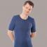 Hemd korte mouw bio-wol/zijde