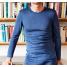 Hemd lange mouw bio-wol/zijde