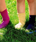 Maillots, sokken, pantoffels